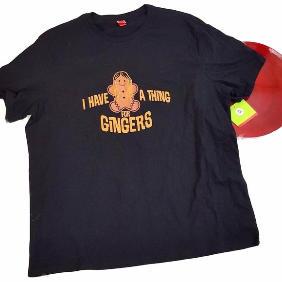 47228886ac Target I Have A Thing For Gingers Graphic T-Shirt NWT